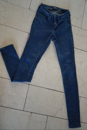 Scotch & Soda Hoge taille jeans donkerblauw
