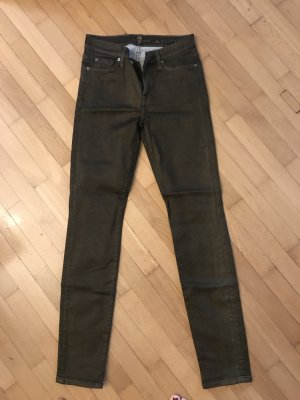 Jeans Seven for all Mankind 27 metallic skinny