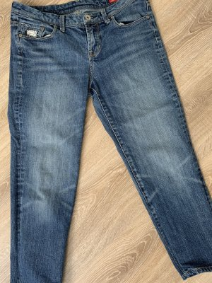 Seven7 3/4-jeans donkerblauw