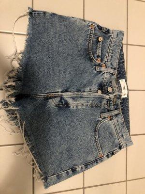 Mango Pantaloncino di jeans multicolore
