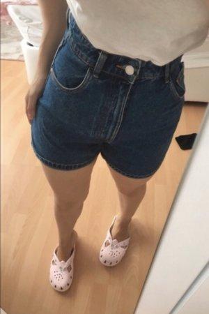 Zara Spijkershort blauw