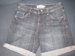 Jeans Short dark blue, fast neu, Gr. 36