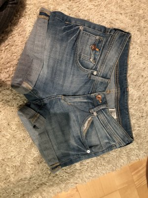 H&M Denim Shorts baby blue-light blue