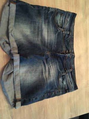 Yessica Pantaloncino di jeans blu-blu scuro