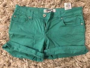Jeans Short türkis
