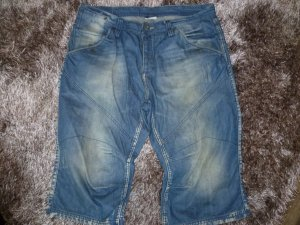 Jeans Shorts 3/4 W 36 oder Gr L