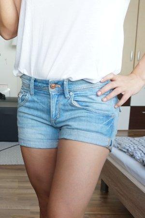 Jeans Shorts blau