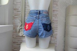 Jeans Shorts Blau Sehr  Hübsch  La Perla  Gr. 44/ 36