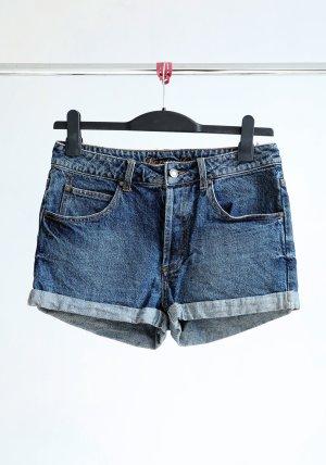 Jeans-Shorts- dunkelblau