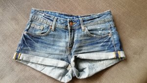 Jeans Shorts dunkelblau denim, H&M, Größe 34