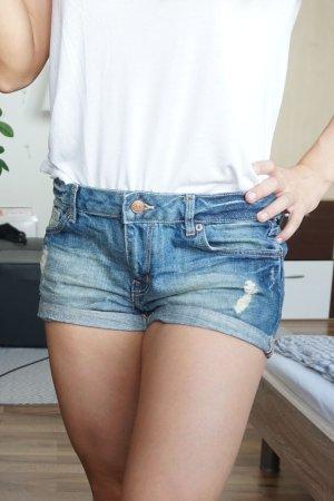 Jeans Shorts dunkelblau
