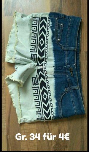Jeans Shorts Ethno