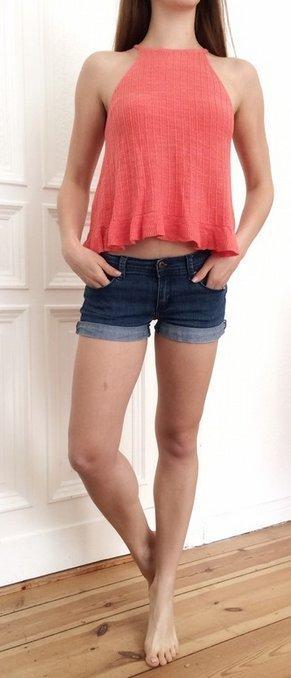 Jeans Shorts F21 Forever21 stretchig Denim 27 S