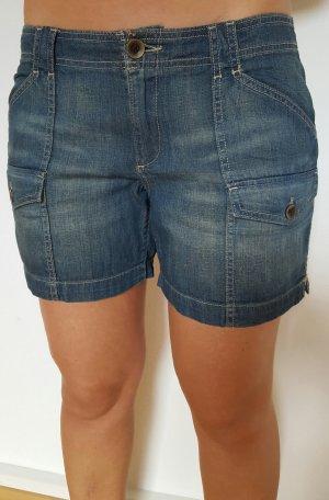Jeans shorts Gr 40 blau