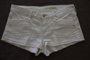 jeans shorts H&M Gr. 34 weiß waschung bleached