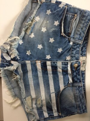 Jeans Shorts High Waist