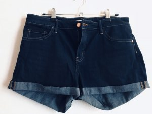 Jeans Shorts high waist dunkelblau Gr.  42