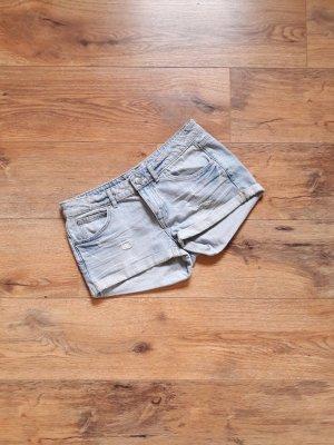 Jeans Shorts Hot Pants blau Gr. 36