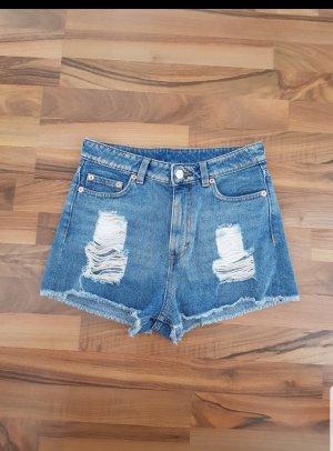 Jeans Shorts Hot Pants kurze Hose