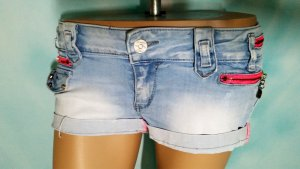 Jeans Shorts Hot Pants M 40 mit Pink simply chick