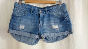 Jeans Shorts im Used-Look