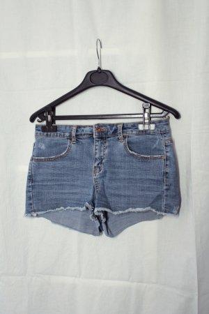 Jeans Shorts in blau