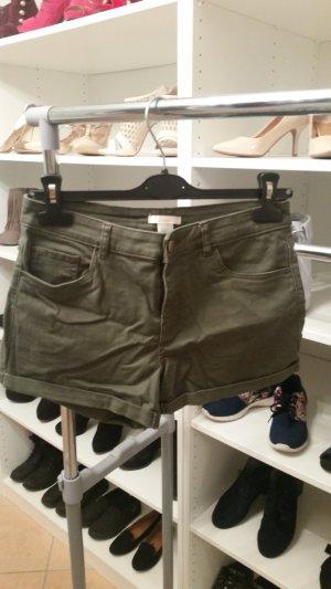 Jeans Shorts khaki Gr. 36 H&M