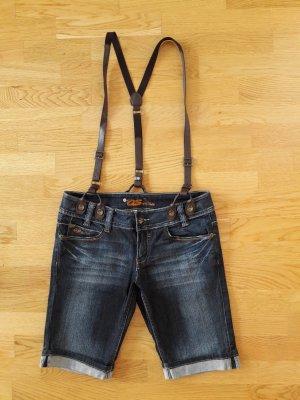 Jeans Shorts / kurze Jeans mit Hosenträgern von QS by s.Oliver
