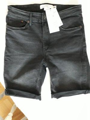 H&M Spijkershort zwart