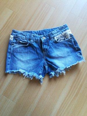 Vero Moda Pantaloncino di jeans multicolore