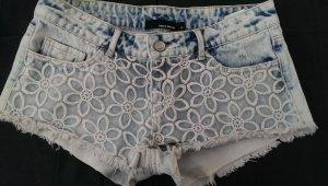 Jeans Shorts Tally Weijl Gr.36 Blumenmuster