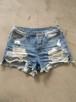 Jeans Shorts // Used Look // Mango