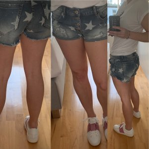 holly's Denim Shorts multicolored