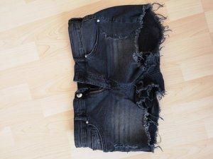 Jeans shorts used Optik anthrazit