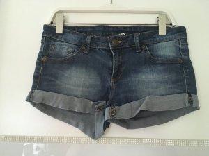 Jeans Shorts von Mango in dunkelblau Größe S