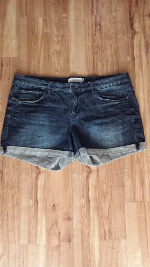 H&M Denim Shorts blue-dark blue