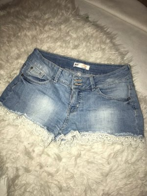 Clockhouse Short en jean multicolore