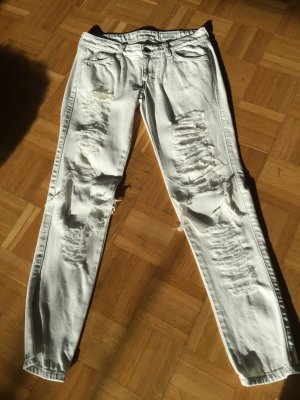Jeans Siwy weiß destroyed 25