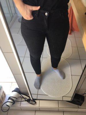 Jeans Skinnie Zara schwarz