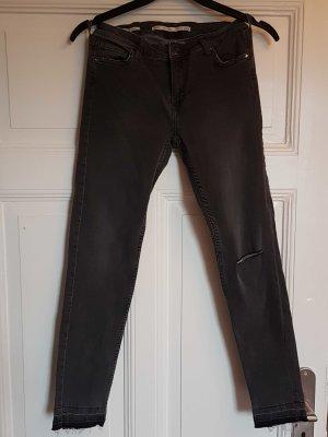 Jeans skinny bershka 38 grau neu
