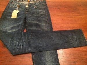 Jeans skinny blu scuro-blu