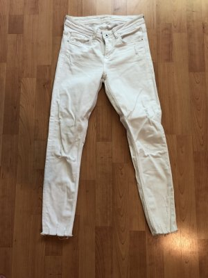 Zara Jeans skinny bianco