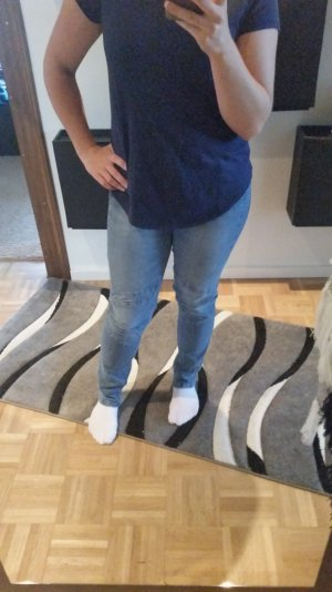 Jeans Skinny mit Details Gr. 40