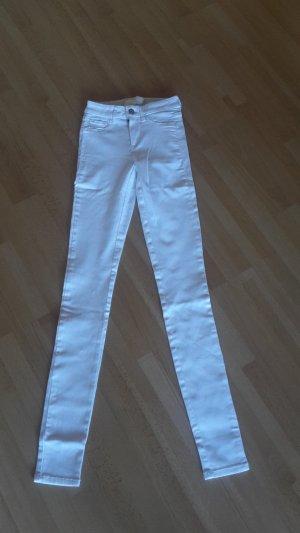 Jeans Skinny Röhre Midi Waist Stretch