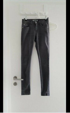 Jeans Skinny Röhre Röhrenjeans grau only 34 L32