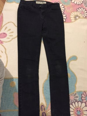 Jeans, skinny, schwarz , höher Bund, 38, denim&co, super Stretch
