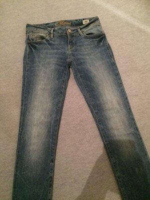 Jeans / Skinnyjeans mit Waschung von MAVI - Modell Lindy - Gr. 25/34