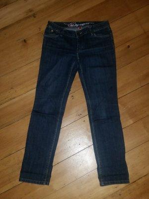 Jeans Slim Dunkelbalu