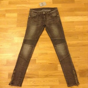 Jeans Slim Leggings grau Gr. S/36 NEU!