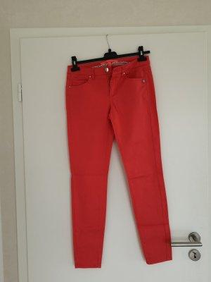 Jeans slim Mango hellrot